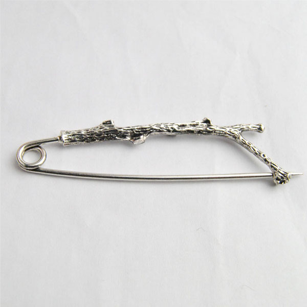 Fashion Man Women Vintage Gold Silver Branches Jewelry Party Casual Brooch Pin E