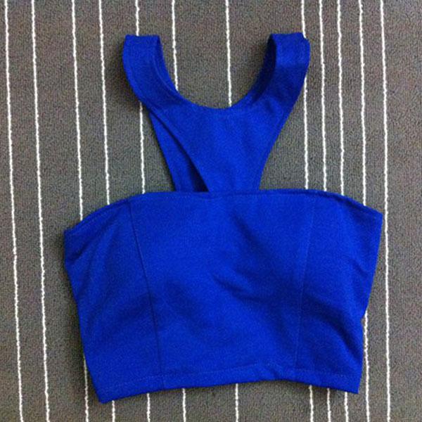 Women Sexy Bodycon Bandage Crop Top Bra Bralette Bralet Eve Club Beach Bustier R
